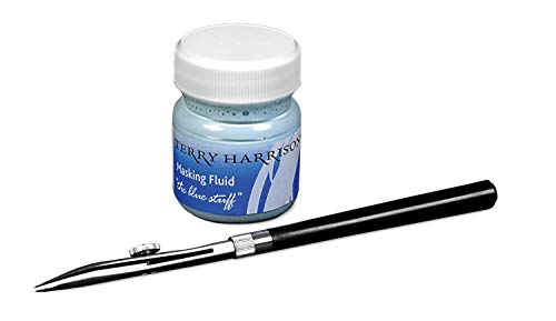 Terry Harrison Masking Fluid & Ruling Pen
