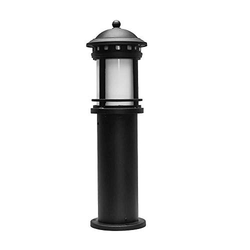 ZSMLB Apliques de Pared para Exteriores Simplicidad Europea Cilíndrico Aluminio Lámpara de césped Impermeable para Exteriores E27 Jardín Externo Paisaje Columna Luz Parque comunitario Camino Pasar