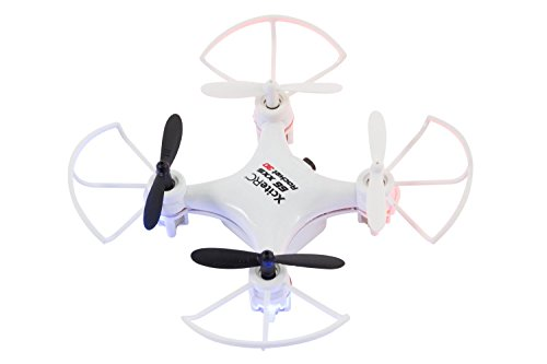 XciteRC 15007400 - RC Quadrocopter - Ferngesteuerte Mini Drohne Rocket 55XXS 3D, 2.4 GHz, 3 Skilllevel, weiß