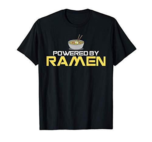 Powered By Ramen Japanese Anime Noodles T-Shirt