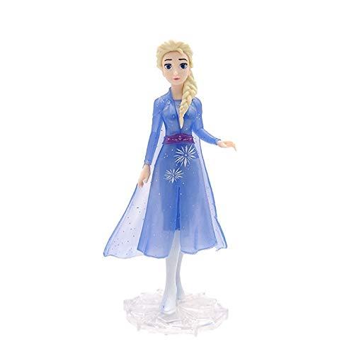 Juguete de Peluche Snow Queen Anna Elsa 2 Olaf Sven Kristoff Princess Toys PVC Figura De Acción Muñeca para Niños Regalo