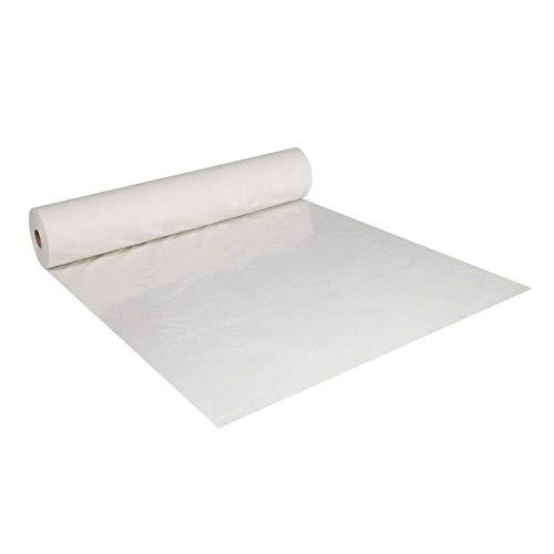 Abdeckvlies 1 m x 50 m weiß 140g/m² selbsthaftend haftend Bodenschutz Schutzvlies Treppevlies