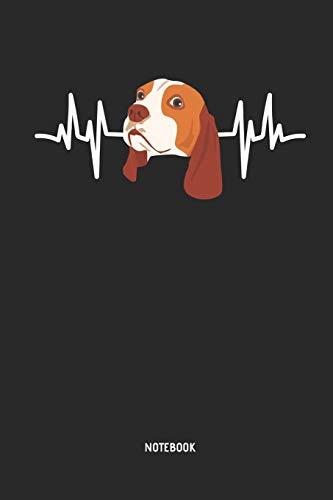 Beagle | Notizbuch: Beagle Herzschlag - Liniertes Beagle Notizbuch. Tolle Geschenk Idee für Beagle Besitzer und alle die Beagle Hunde lieben.