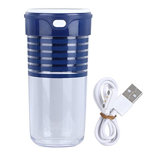 Pwshymi Exprimidor eléctrico Herramienta de Cocina Licuadora eléctrica indeformable para Cocina casera(Blue)