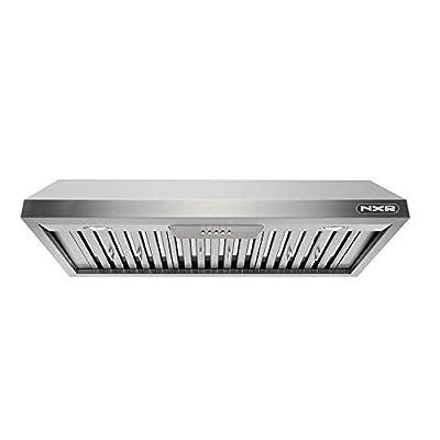 "NXR EH4819 48"" Pro-Style Under Cabinet Range Hood, Stainless Steel"