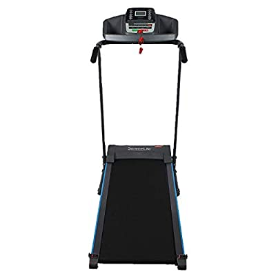 SereneLife Smart Electric Folding Treadmill - Easy Assembly Fitness Motorized Running Jogging Exercise Machine with Manual Incline Adjustment, 12 Preset Programs