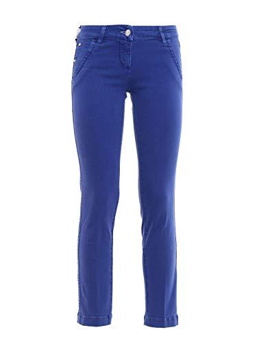Jacob Cohen Luxury Fashion Damen PWCHLOESUMMER00001 Blau Baumwolle Hose | Jahreszeit Permanent