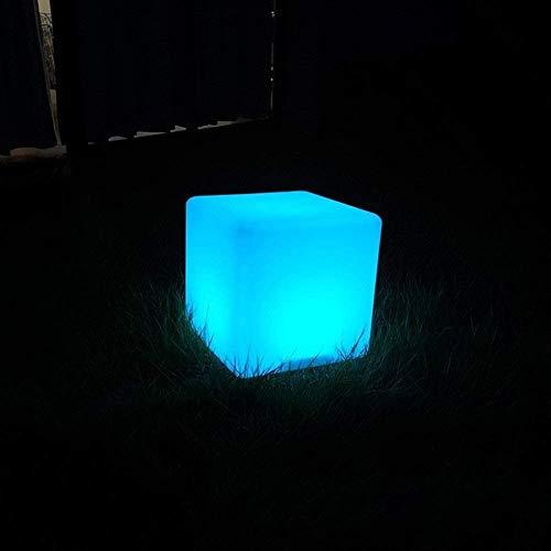 Wlnnes LED de luz de Color de Las heces de jardín al Aire Libre del Paisaje Luz 16RGB transformación de Color Personalidad Silla de la Barra de luz Silla Alta Silla Manera de la decoración de Muebles
