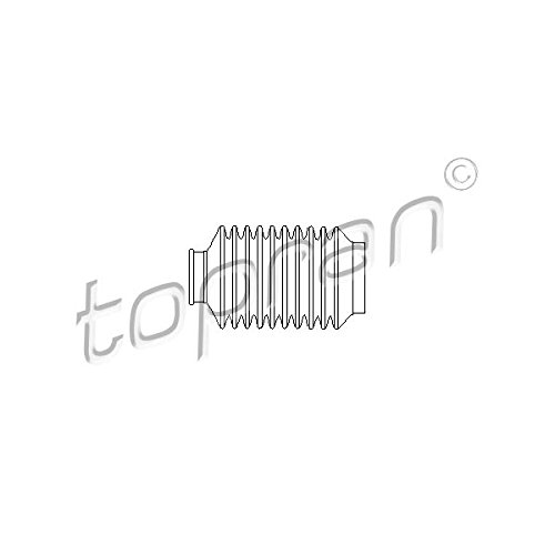 Vouwbalg besturing aan beide zijden - Topran 104 073