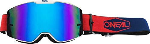 O'NEAL B20 Plain Goggle MX DH Brille blau/rot/Radium blau Oneal