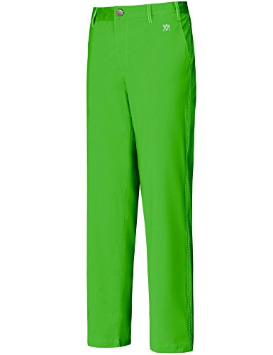 Lesmart Men's Golf Pants Stretch Slim Straight Tech Performance Relaxed Fit Chino Pant Size 46Wx33L Green