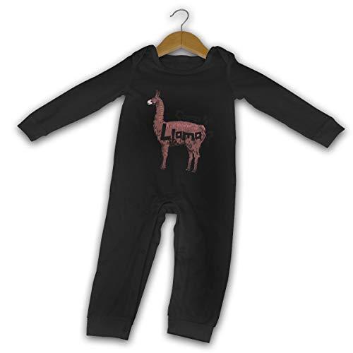 Mark Stars como Se Llama Bebé recién Nacido Gilr's Boy Romper Baby Manga Larga Infantil(18M,Negro)