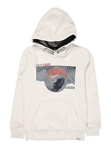 Garcia Jungen V03660 Sweater, White Melee, 164/170