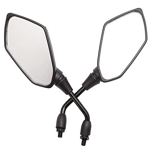 GUANG Mircycle Mirror Universal Mirror Página de Rodillo Reverso 10mm para Chopper para Scooter de Crucero banghai