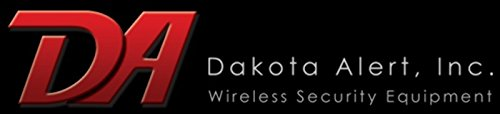 Dakota Alert DC-1000 Long-Range Wireless Doorbell with LED Light Flasher and Push Button - Up to...