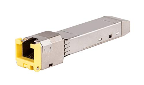 Hewlett Packard Enterprise Aruba 1G SFP RJ45 T 1000Mbit/s SFP Red modulo transceptor -...