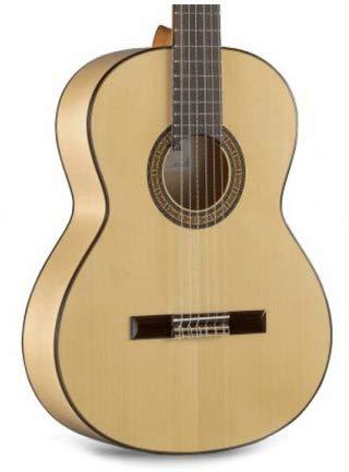 Alhambra 3F Flamenco con Golpeador Guitarra Española Clasica + Funda