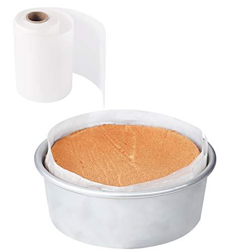 Cake Pan Liner, Nonstick Cake Pan Side Liner/Baking Parchment Paper Liner Roll for Cake Pan, Springform Pan (4in x 164ft)