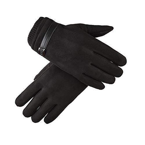 YDS Shop Handschoenen, touchscreen-man-winter-garantie, warm verdikt, fietsen, studenten zwart 2