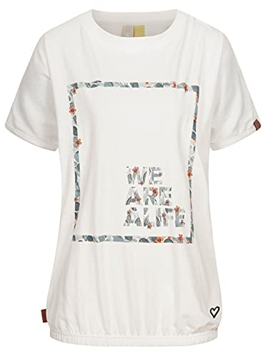 Alife and Kickin Damen SunAK T-Shirt, Cloudy, XS