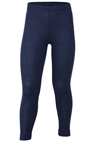 Engel, Legging, Lange Unterhose, Wolle Seide, Grösse 92-176, 5 Farben (116, Marine)