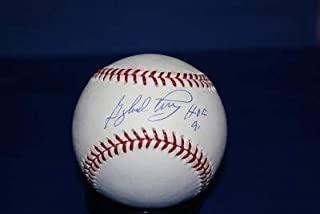 gaylord perry autographed baseball