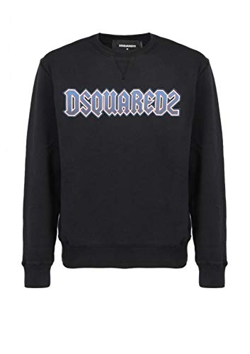 Luxury Fashion | Dsquared2 Heren S71GU0315S25030900 Zwart Katoen Truien | Herfst-winter 19