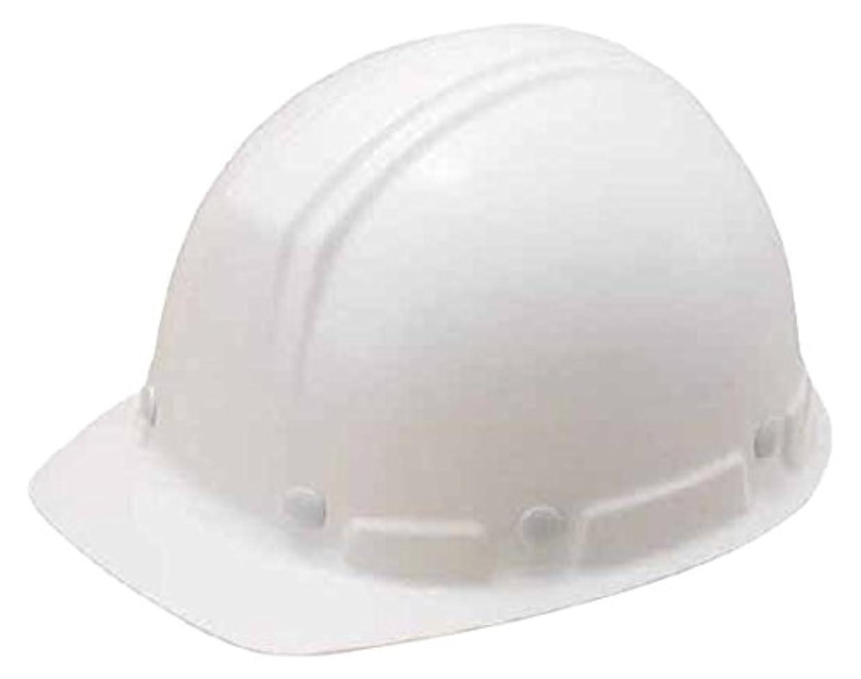 回答打撃助言するタニザワ 軽量型ヘルメット(前ひさし型) 白