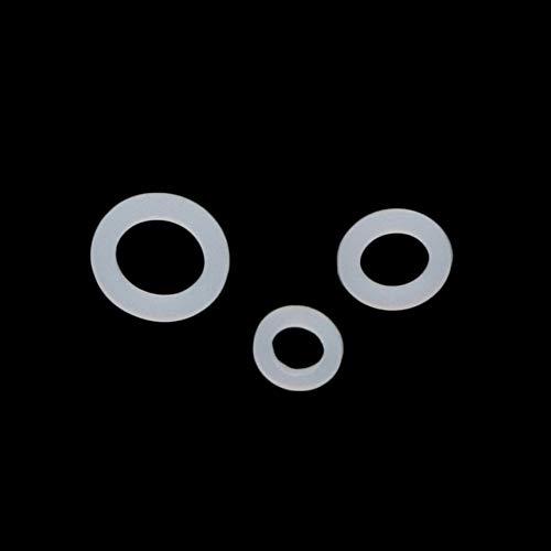 NLLeZ 30Pcs Jardín Grifo Junta tórica 1/2', 3/4', 1' Seal Conector Manguera de jardín Anillo PE Conector de Tubos Adaptador de riego por Goteo (Diameter : 3/4'')