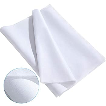 3 Pieces Fusible Interfacing Non-Woven Lightweight Polyester Interfacing  White 20 Inch x 3 Yards