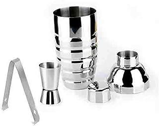 Sponsored Ad - Stainless Steel Cocktail Shaker Set, Bartender Kit, 3 Piece, Cocktail Shaker 10 Oz. (300 ml), Double Measur...