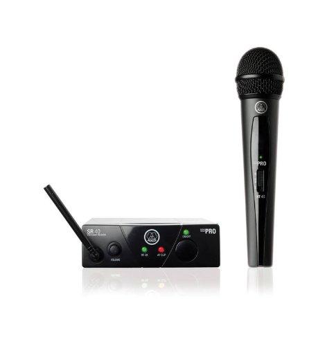 AKG WMS40 Mini Sistema de micrófono inalámbrico 863,1 MHz