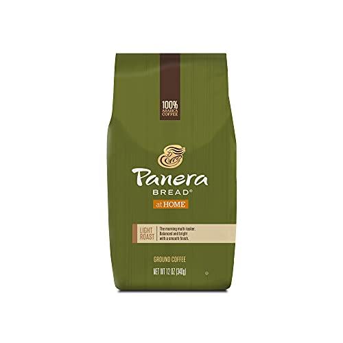 Panera Bread Light Roast Coffee, Ground Coffee, 100% Arabica Coffee, Bagged 12 oz