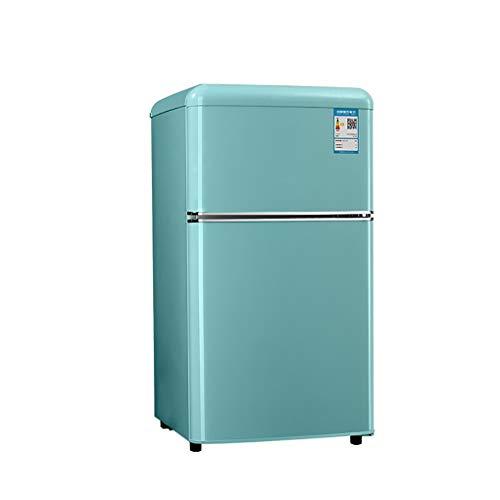 JF Refrigerador De 2 Puertas Independiente | Congelador-25L Refrigerador-57L | Silencio | Control De Temperatura Doble, para Hogar, Oficina, Congelador De Cocina