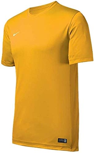 Nike Tiempo II Soccer Jersey - Yellow - Youth Medium