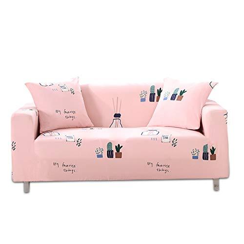 PETCUTE Fundas de Sofas elástica 3 plazas Fundas elasticas para Sofas Fundas Ajustables para sillón Sofas con Estampado de Flores