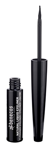 Benecos Eyeliner - Lapiz De Ojos Liquido Negro 3ml