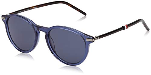 Tommy Hilfiger TH 1673/S Gafas, Azul, 50 para Hombre