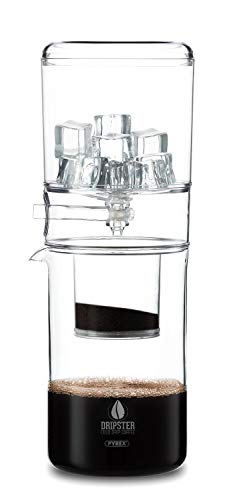 Dripster Cold Brew Dripper (4 Cups / 600ml), Cold Drip Coffee Maker for Cold Brew Coffee and Tea