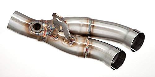 M4 Performance Exhaust Muffler Box Eliminator Kit compatible with 2006-2020 Yamaha R6 YA-MBEKR606