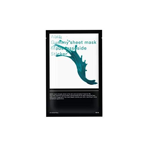 [Abib] アビブガムのくるみシートマスクマデカソサイドゥステッカー 27mlx10枚 / ABIB GUMMY SHEET MASK MA...