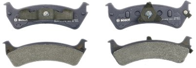 Bosch BP667 QuietCast Premium Semi-Metallic Disc Brake Pad Set For Ford:...