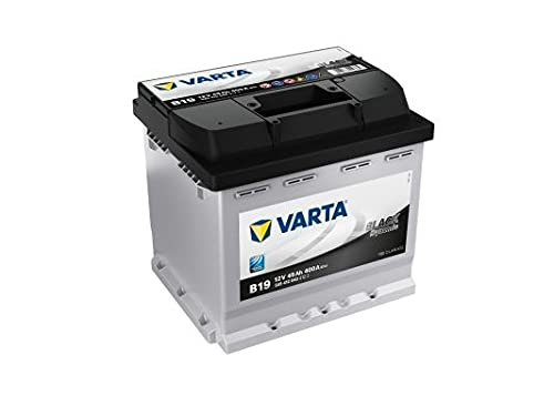 Varta 5454120403122 Anlasser Batterie, 12V, 45Ah, 400A, 20.7cm x 17.5cm x 19cm
