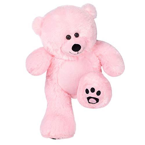 VERCART Kleiner Teddybär Weiche Plüschbär Teddi Rosa