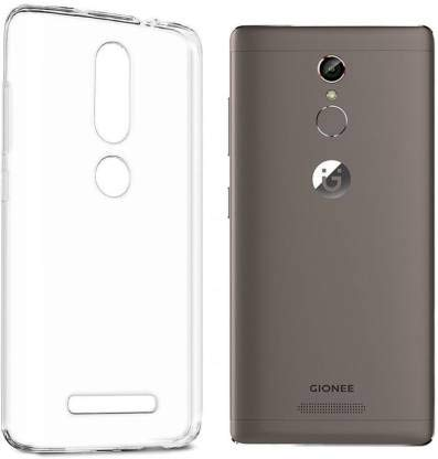 Plus Ultra Clear Transparent Flexible Soft TPU Slim Back Cover for Gionee S6s