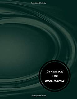 Generator Log Book Format: Generator Maintenance Log