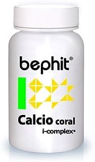 CALCIO CORAL + VITAMINA D3 BEPHIT - 90 cápsulas 780 mg