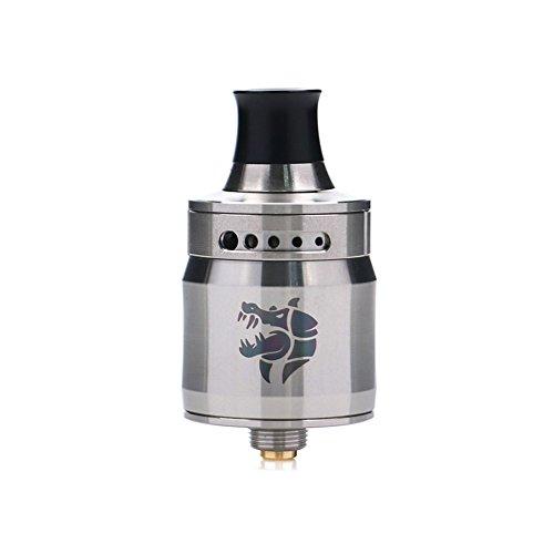 GeekVape Ammit MTL RDA mit dreidimensionalem Luftstromsystem und dichtem Design, ohne E-Flüssigkeit, nikotinfrei (Silber-)