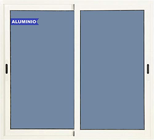 Ventana Aluminio Corredera 1200 ancho x 1200 alto 2 hojas