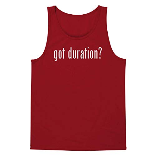 got Duration? - A Soft & Comfortable Men's Tank Top, Red, X-Large